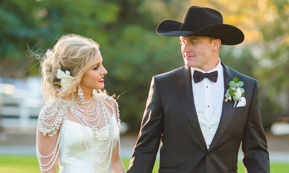 quincy freeman dakota eldridge wedding cowgirl magazine