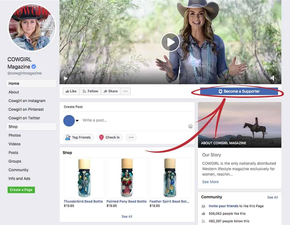 cowgirl insider facebook profile cowgirl magazine