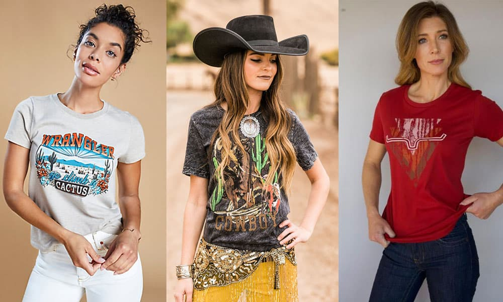 graphic tees from rodeo quincy kimes ranch wrangler cowgirl magazine