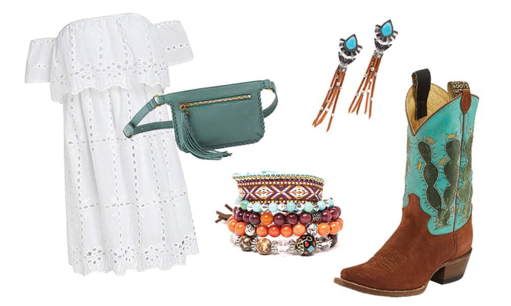 boho outfit cowgirl magazine