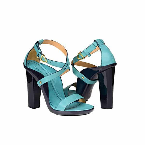 lucchese heels footwear cowgirl magazine turquoise suede