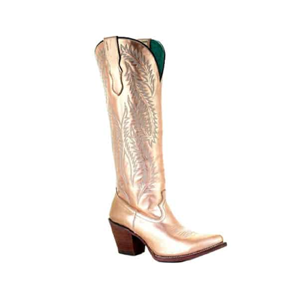 metallic cowgirl magazine corral boots