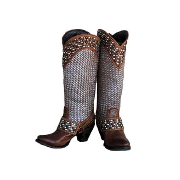 metallic cowgirl magazine lane boots