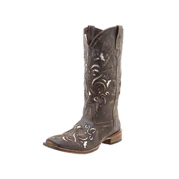 underlay cowgirl magazine roper boots