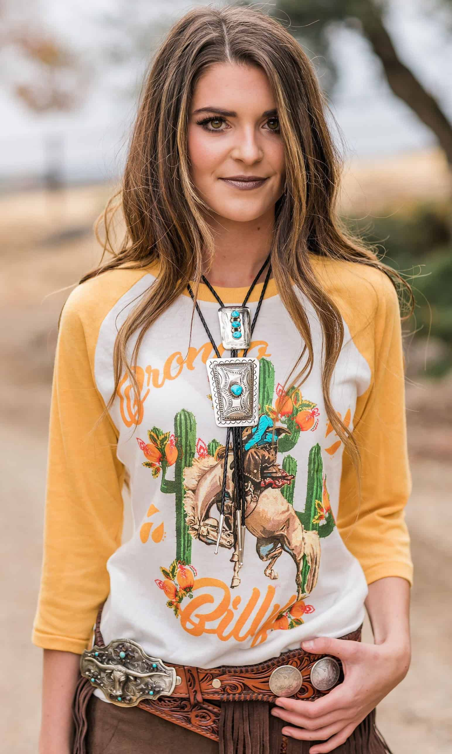 rodeo quincy bronco billy tshirt cowgirl magazine