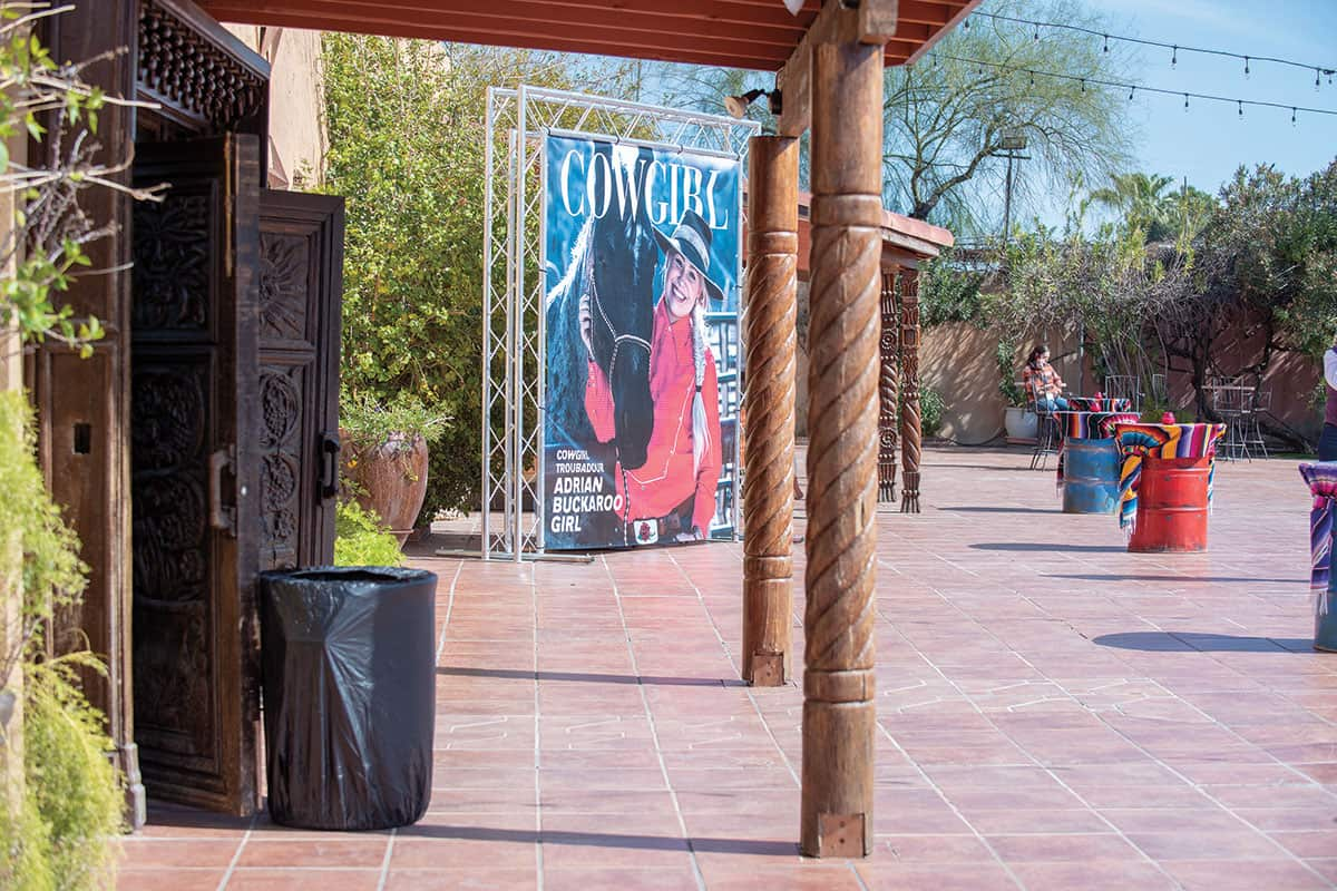 banner art of the cowgirl cowgirl magazine