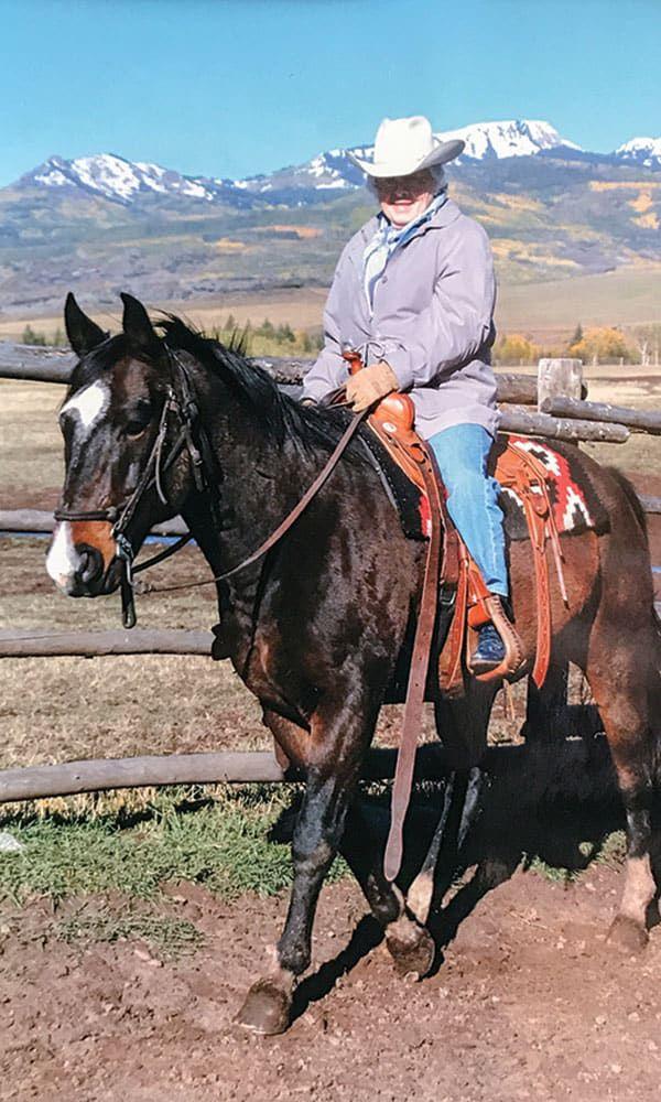 betty kunesh on horse cowgirl magazine