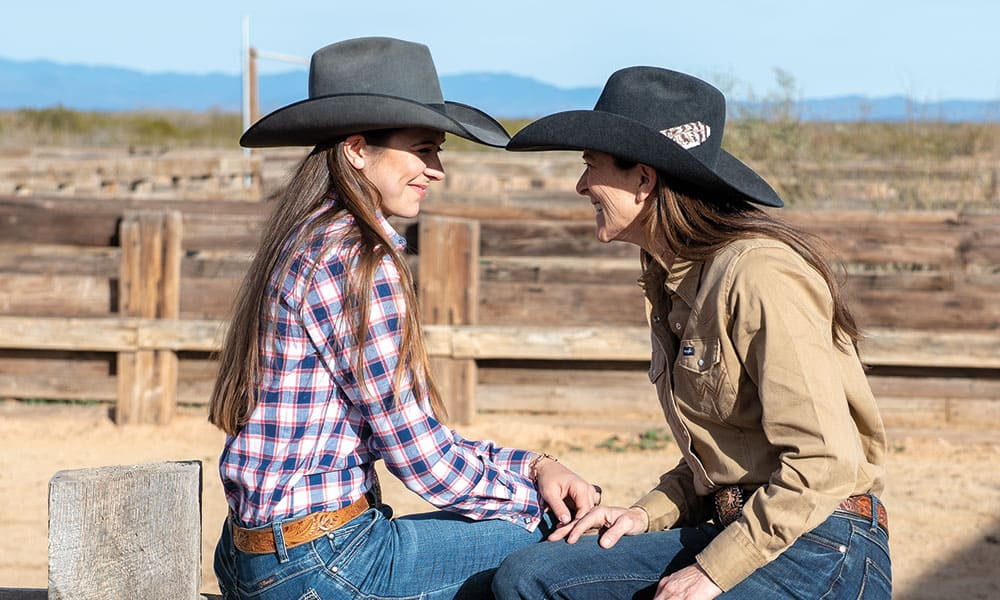 tammy and pesa pate cowgirl magazine