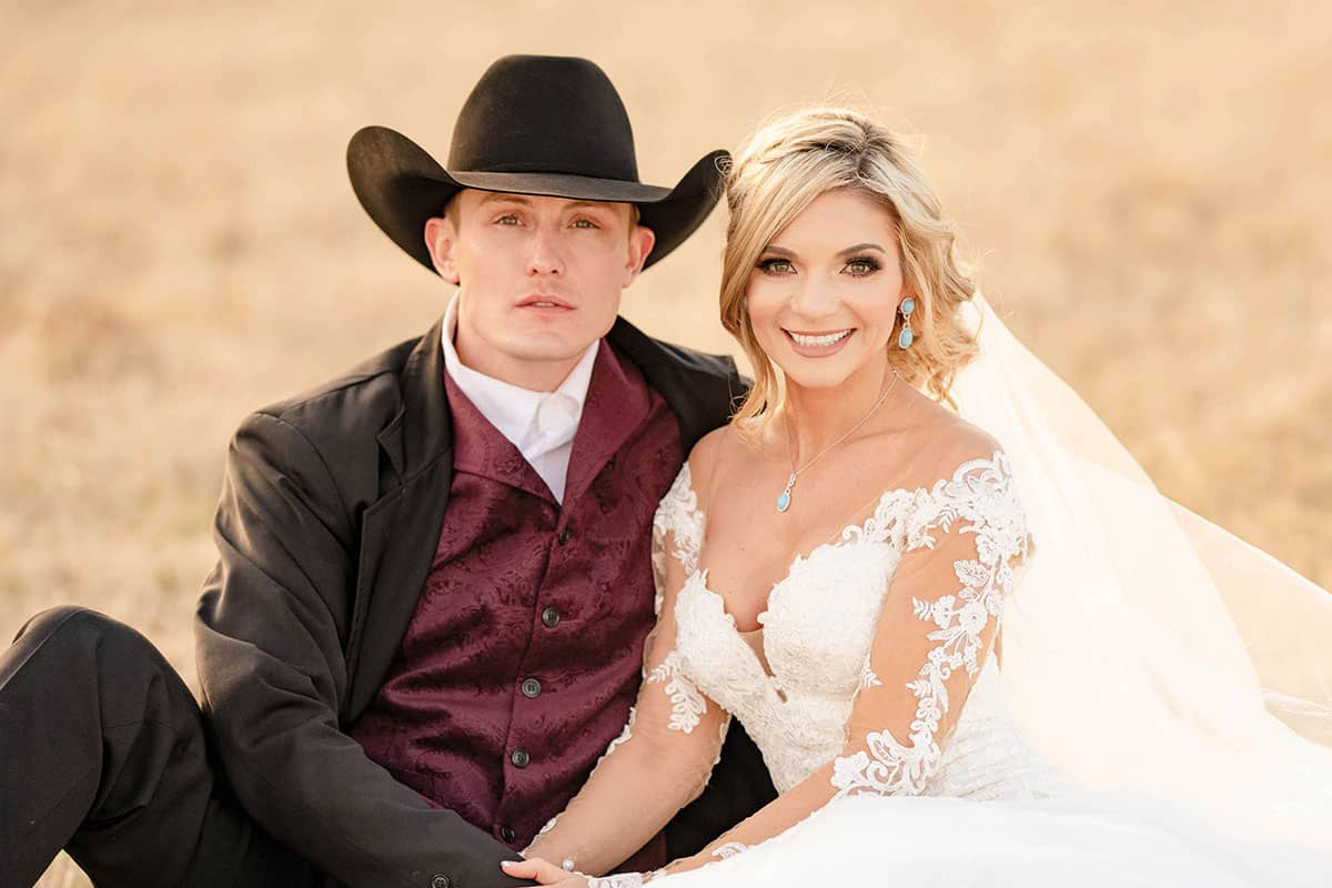 tuf and tif wedding cowgirl magazine