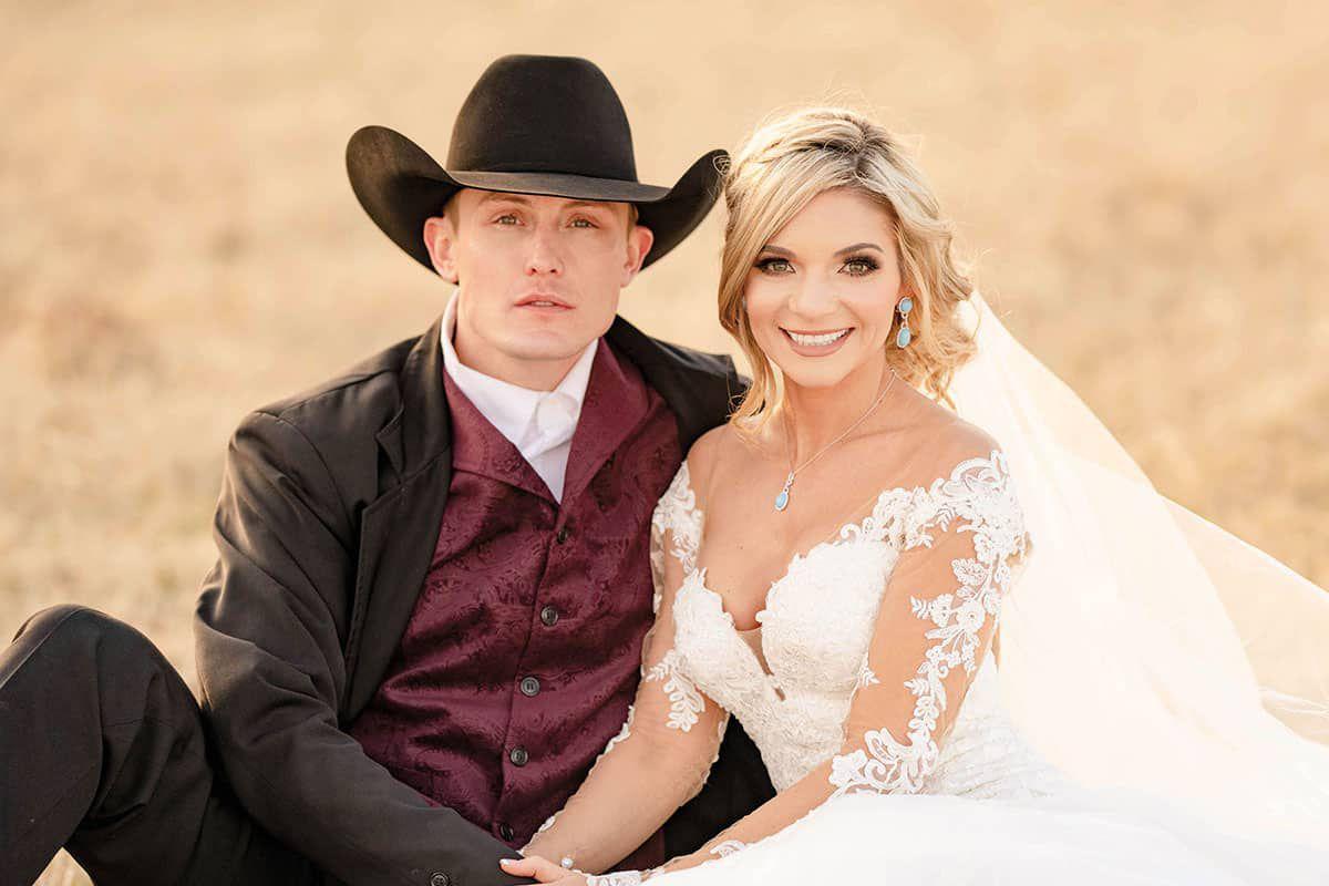 tuf and tif wedding cowgirl magazine