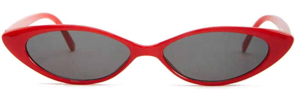 cat eye trend sunglasses in red from forever 21