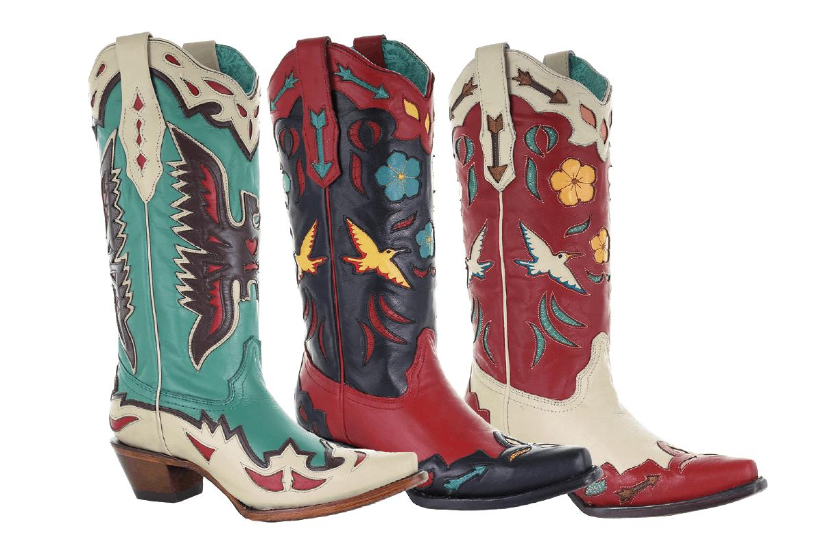 corral boots footwear flashback cowgirl magazine