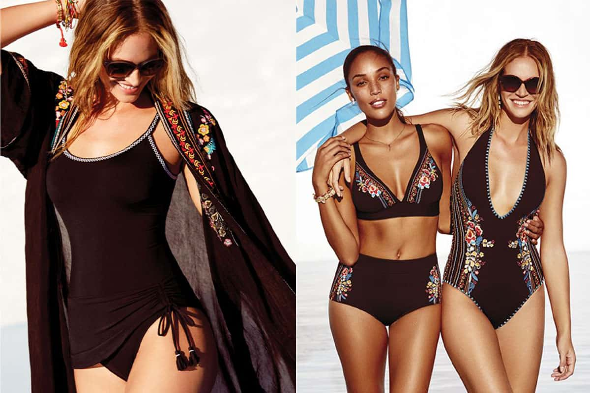 western swimsuits with embroidery and cover ups cowgirl magazine