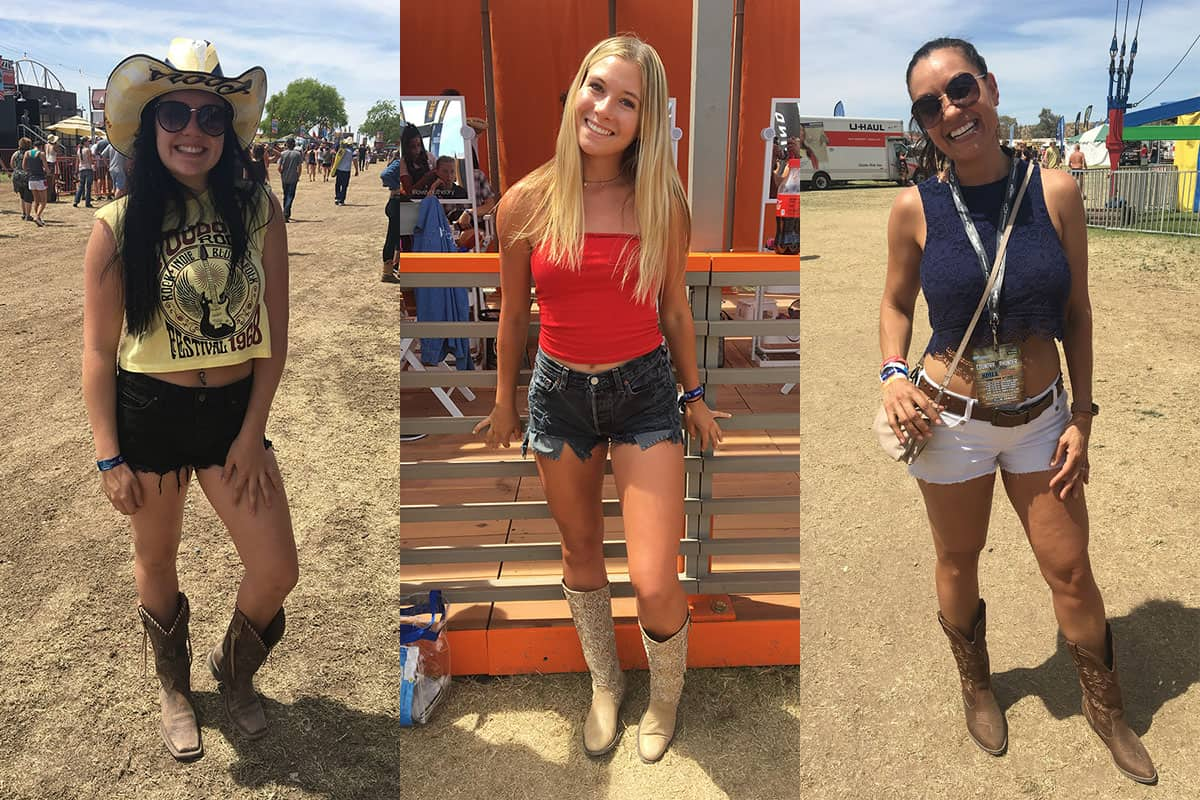 street style country thunder music festival cowgirl magazine