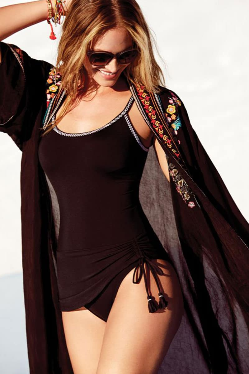 johnny was vanessa embroidered kimono black cowgirl magazine