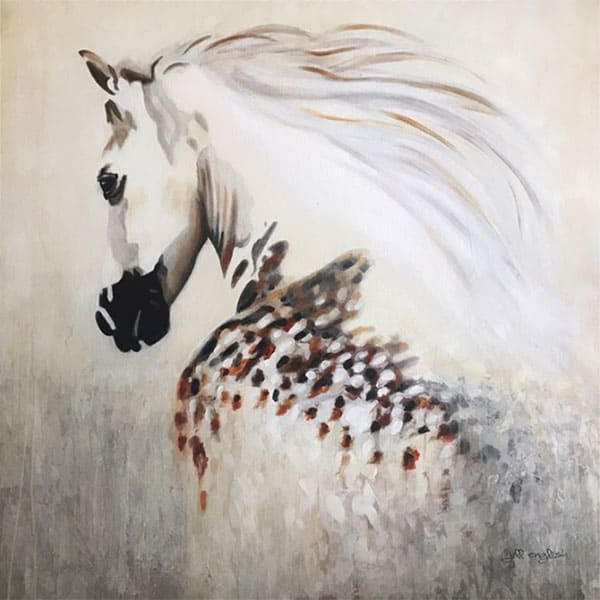 free spirit jill english painting cowgirl magazine