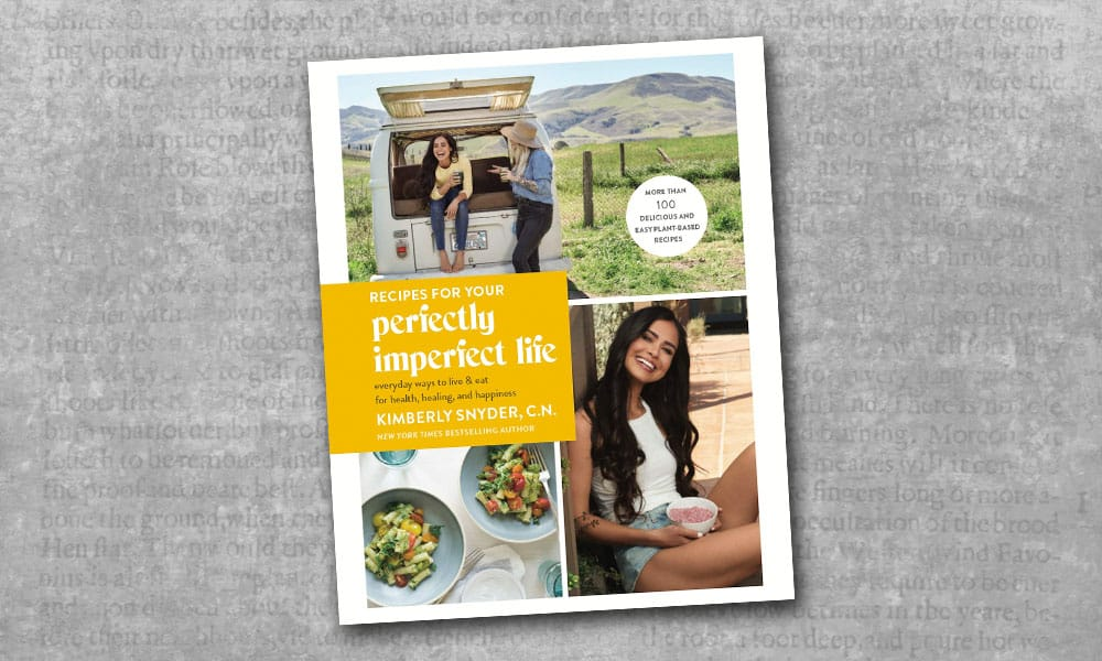 recipes for your perfectly imperfect life kimberly snyder book cover cowgirl magazine