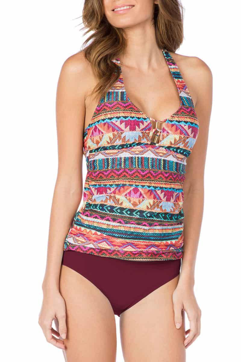 la blanca tankini and becca color code bikini bottoms nordstrom cowgirl magazine