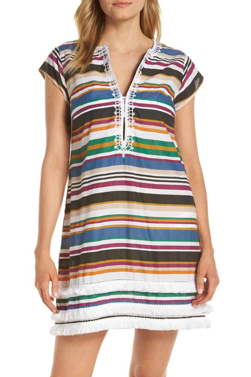 bleu by rod beattie under cover stripe cover up dress from nordstrom cowgirl magazine