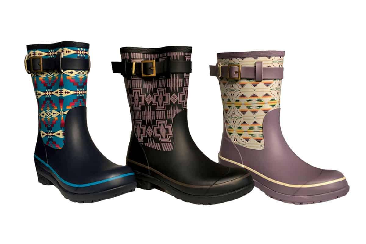pendleton short rain boots cowgirl magazine