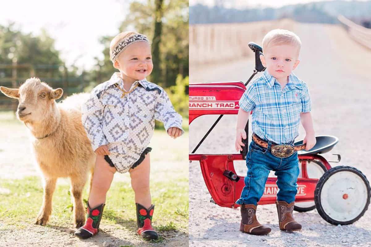 shea baby boots shea Fischer Durfey Tyson Durfey cowgirl magazine
