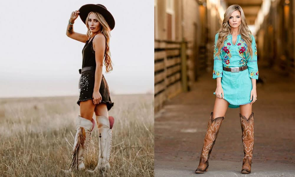 tall boots tall top boots cowgirl magazine