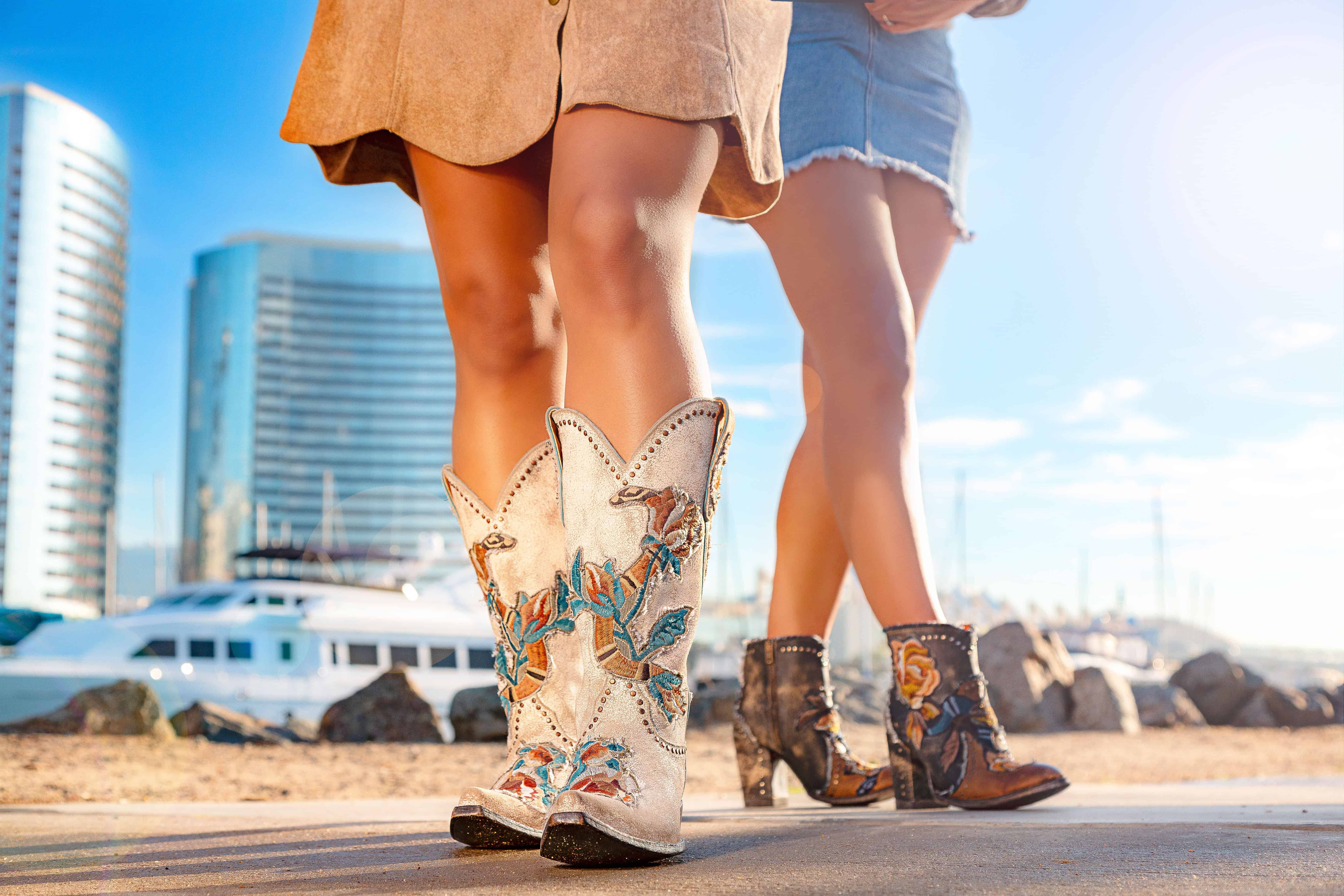 so fresh and so spring boots, with the carla short boot by old gringo for spring and summer and the carla boot
