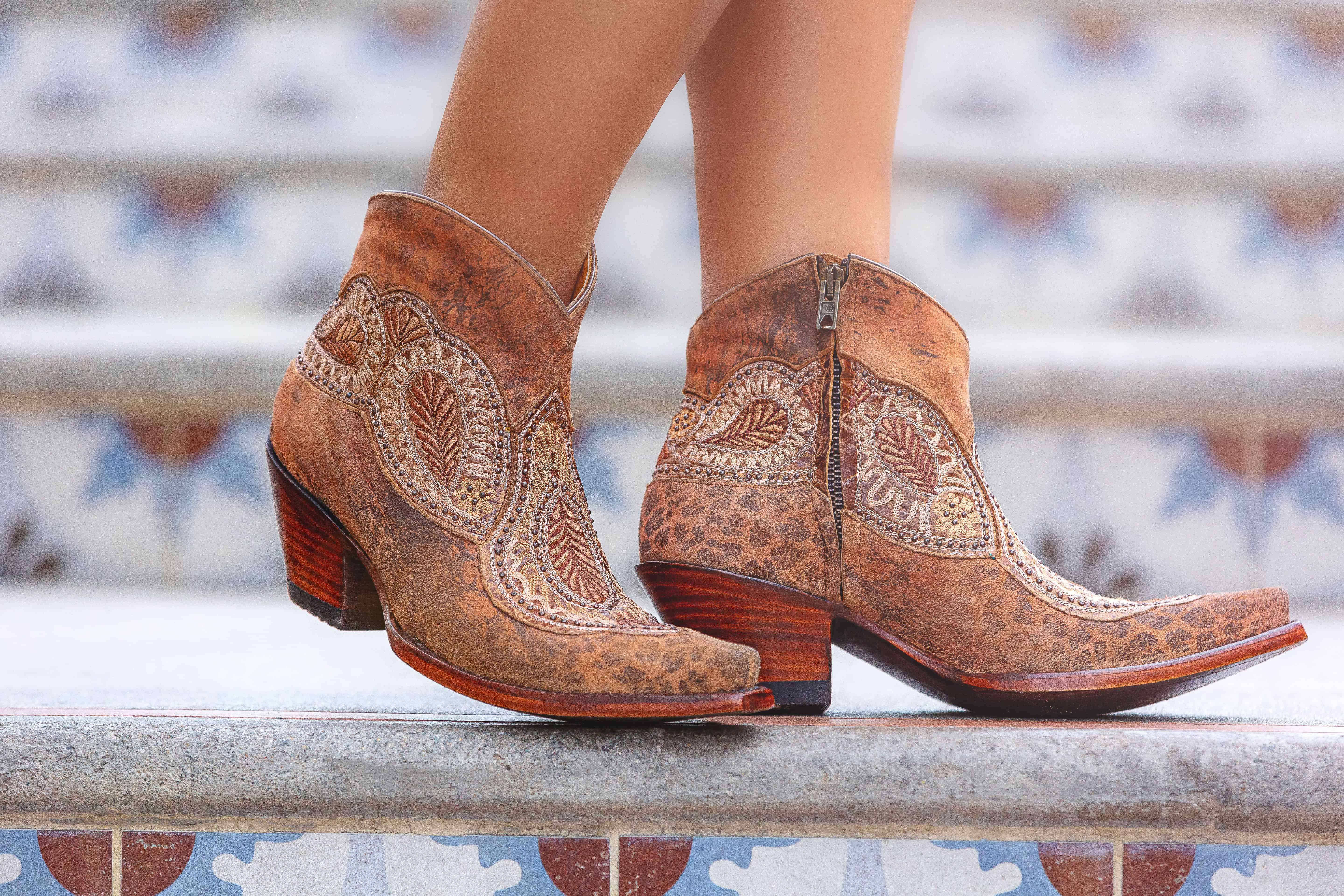 bianca bootie from Old gringo, so fresh and so spring boots