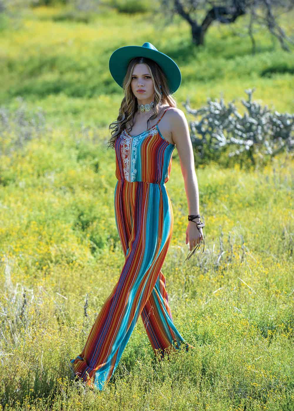faire and festive fashion shoot cowgirl magazine