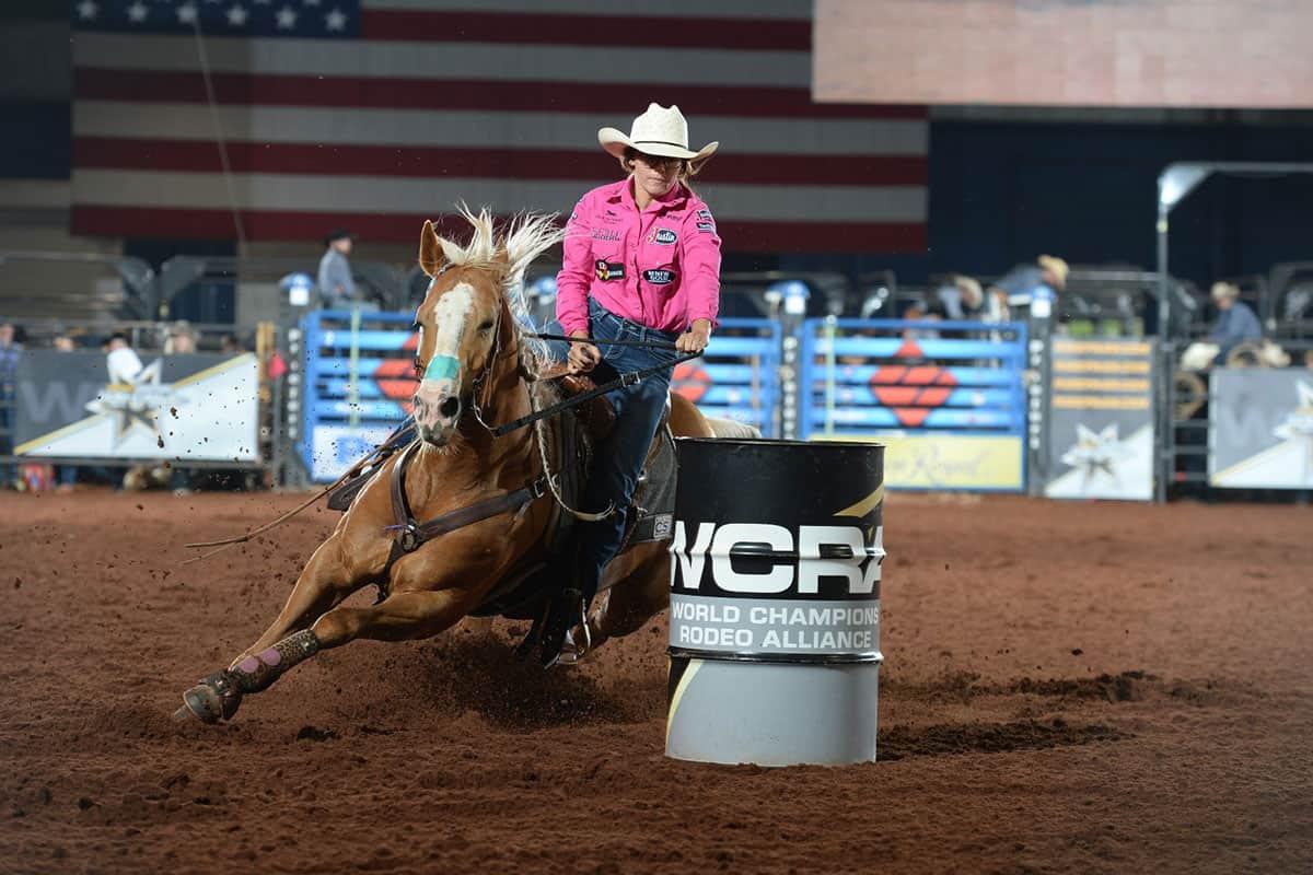 ivy conrado barrel racing wcra semi finals cowgirl magazine