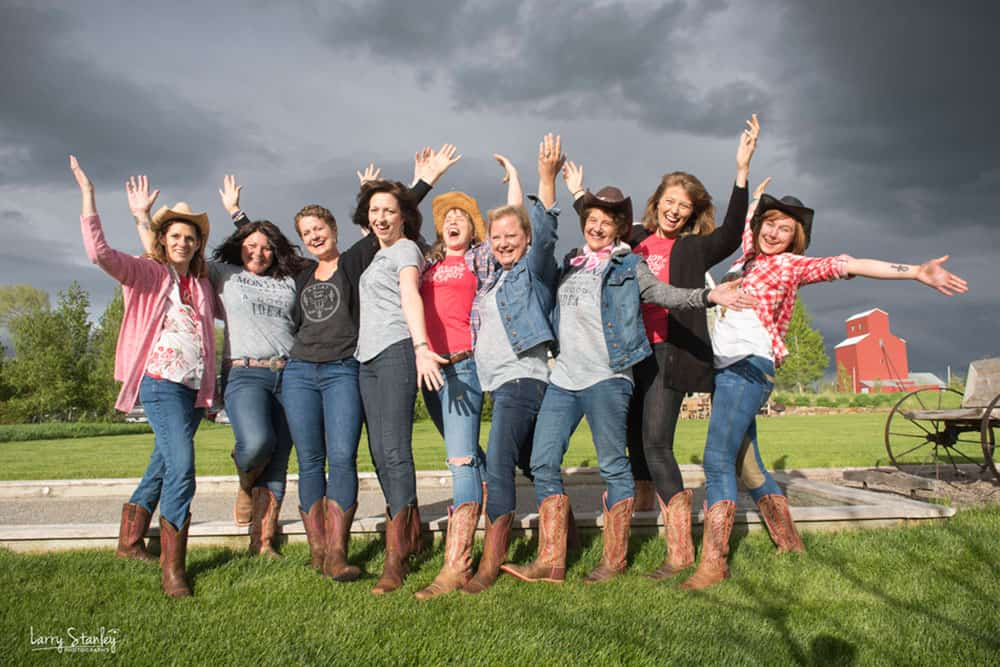 cowgirls versus cancer blue sky yoga retreats cowgirl magazine