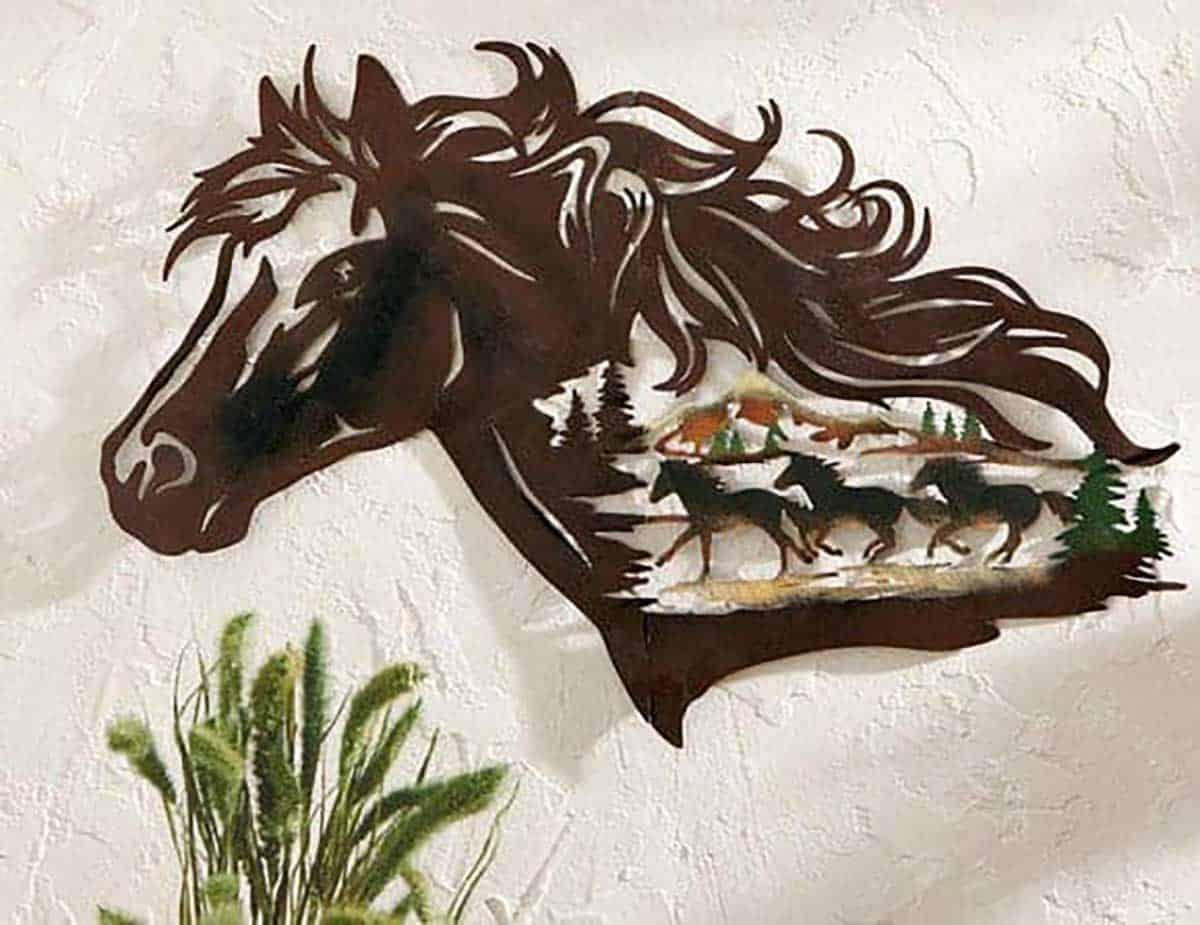 Metal-Western-Horse-Shadow-Wall-Art-1