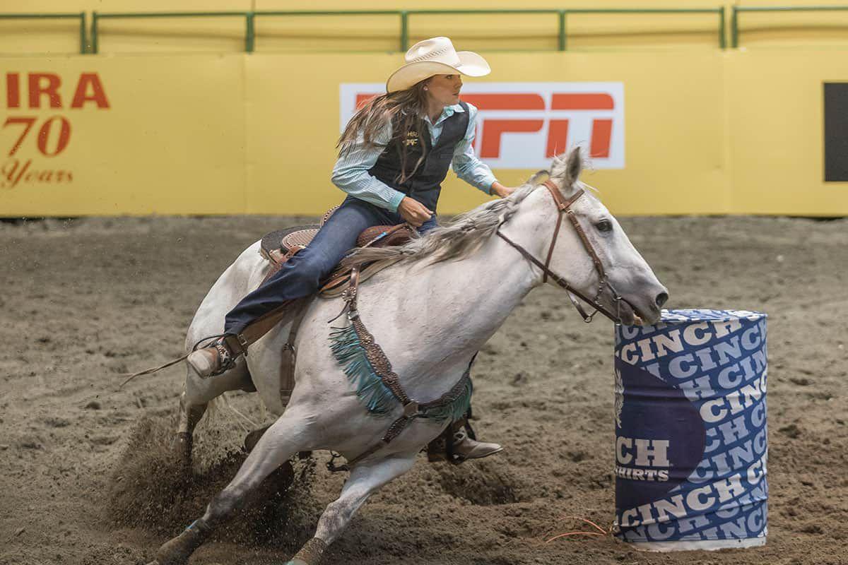 cnfr barrel racing caspar wyoming cowgirl magazine
