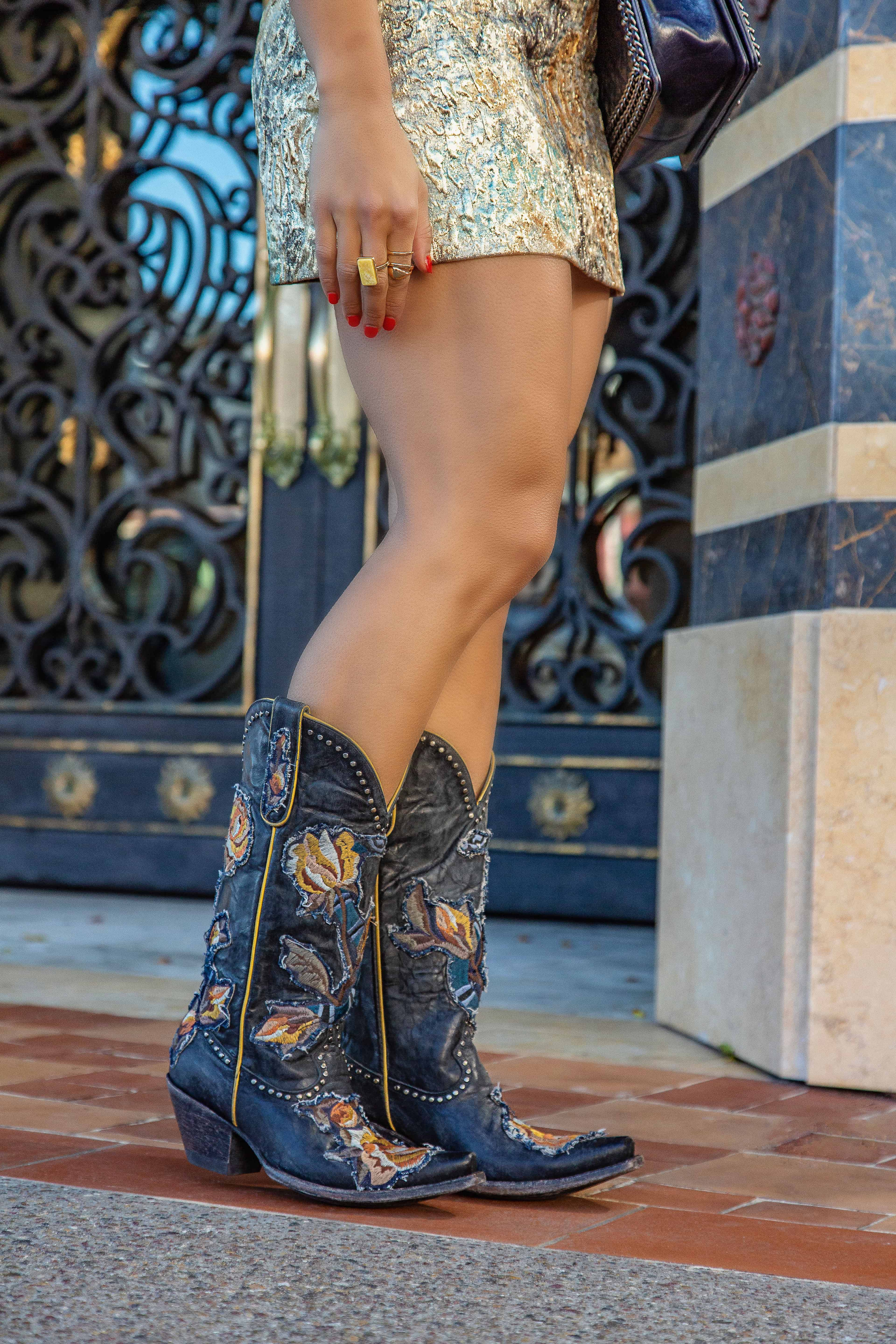 cowgirl boots glamorized