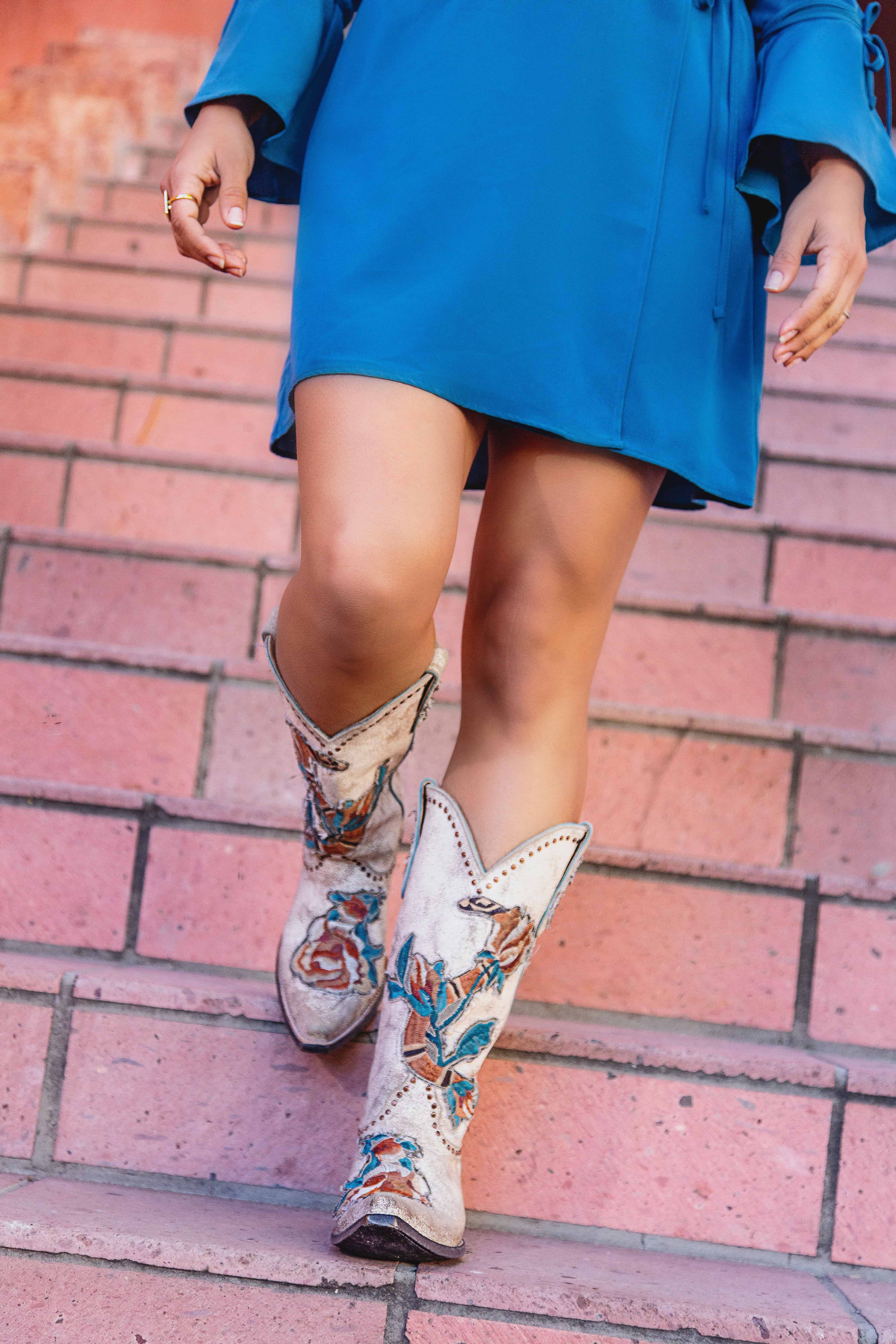 glamorized boots by old gringo