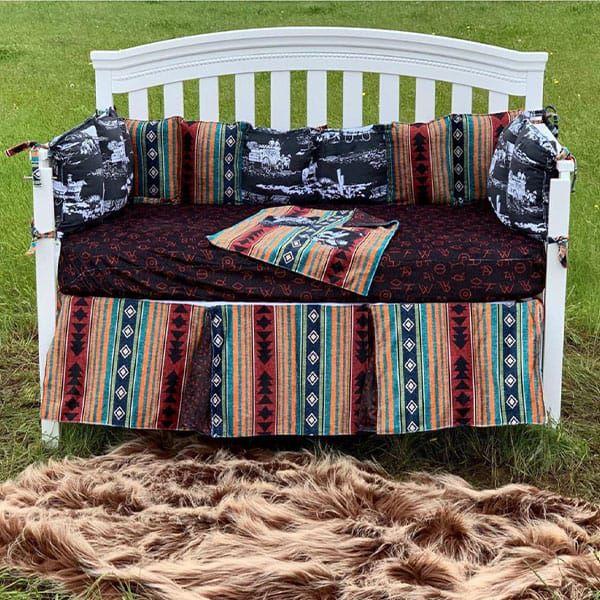 bedding handmade heifer cozy calf collection aztec