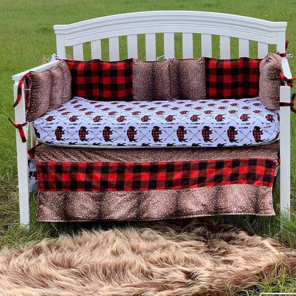 bedding handmade heifer collection buffalo plaid