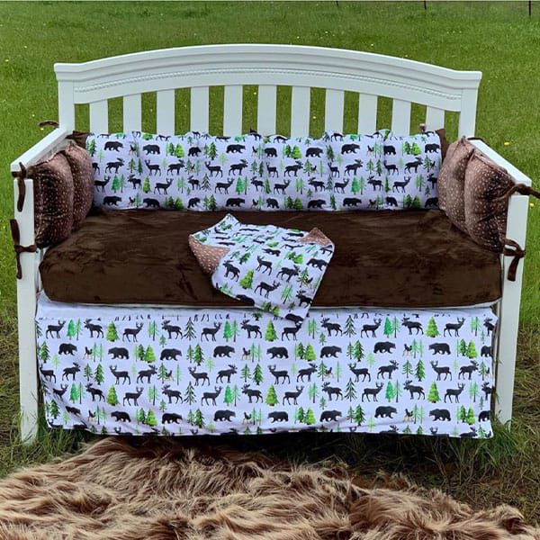 bedding handmade heifer cozy calf collection deer
