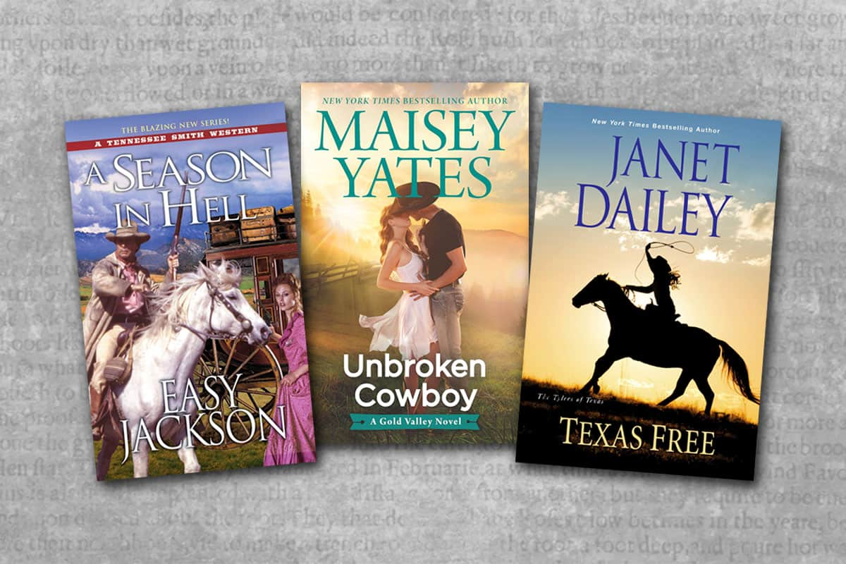 romance novel book covers cowgirl magazine