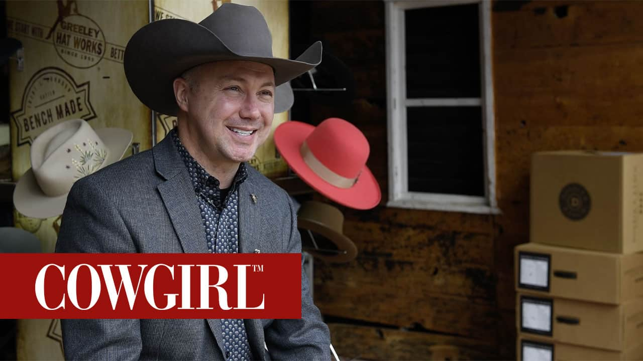 trent johnson greeley hat works cowgirl magazine