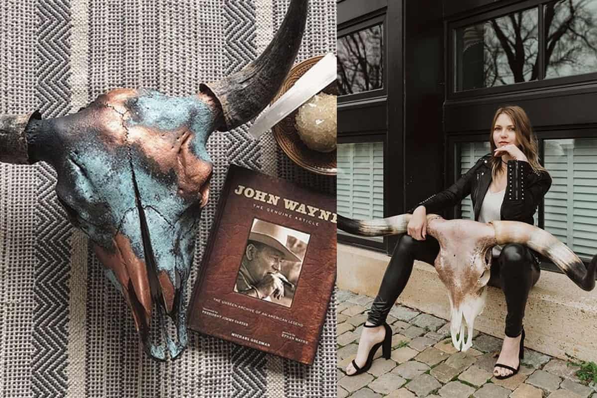 wanderlust skulls Cassie cowgirl magazine