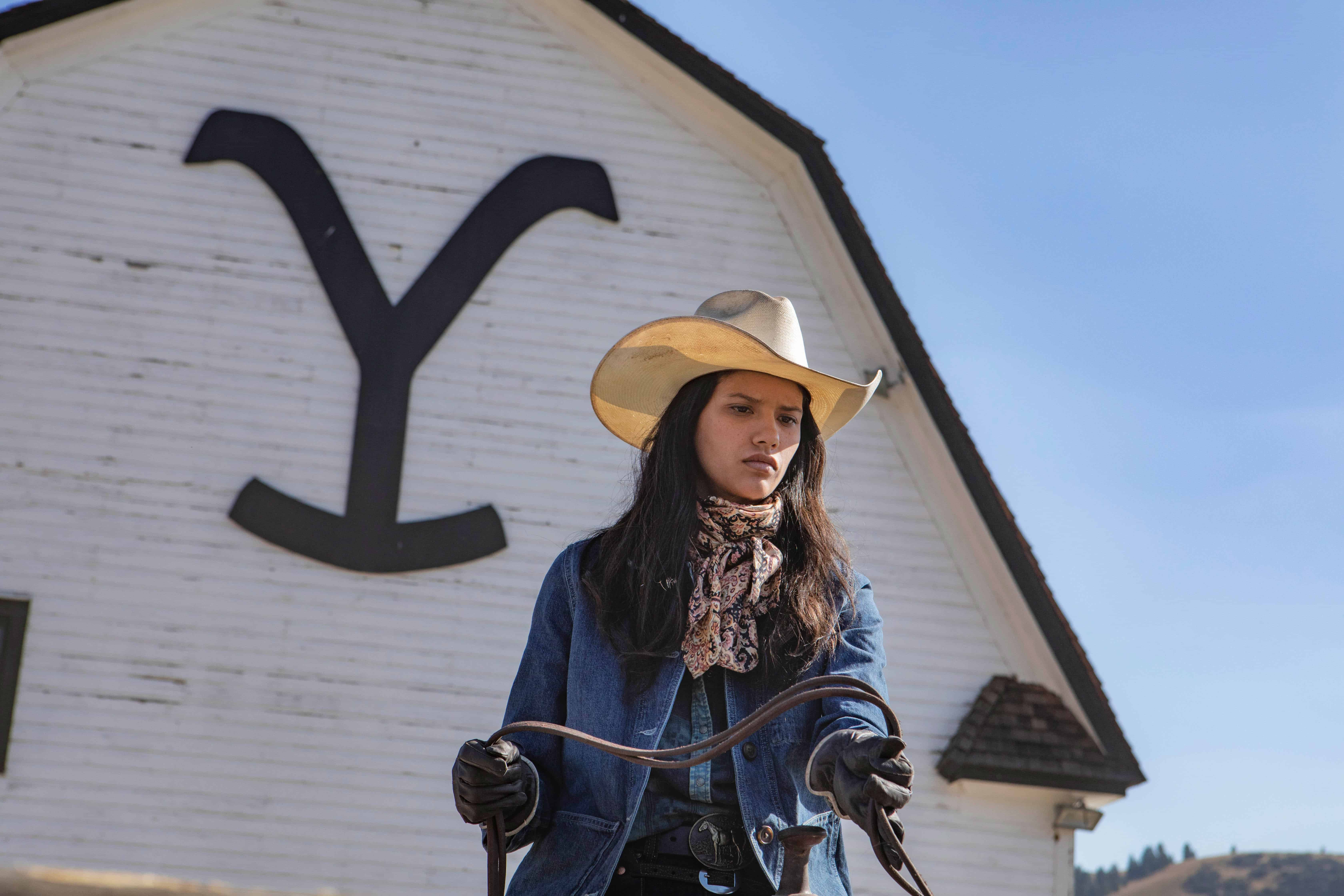 Actress Tanaya Beatty plays the role of Avery on Paramount Network's hit show, Yellowstone.