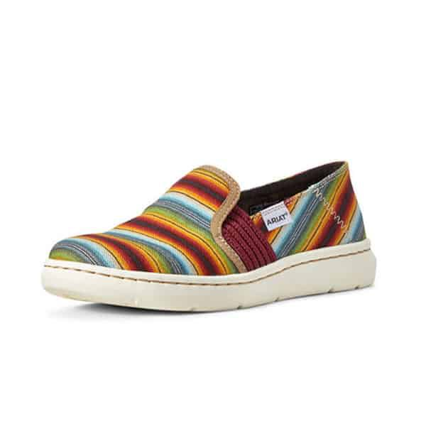 ariat Ryder casual shoes cowgirl magazine serape