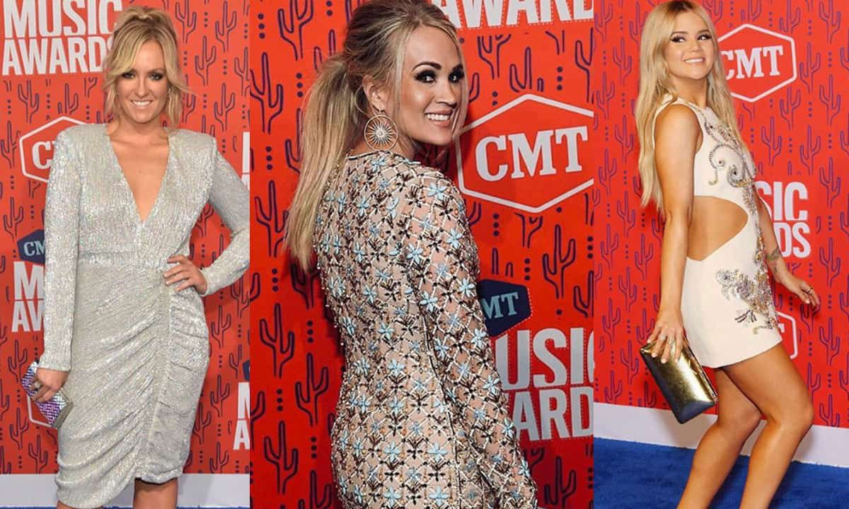 Female country music artists rocked the red carpet at the 2019 CMT Awards and were nothing short of fire