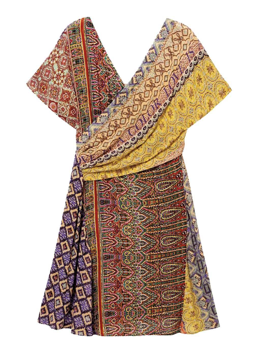 desigual vestido cruzado indian clanzie cowgirl magazine