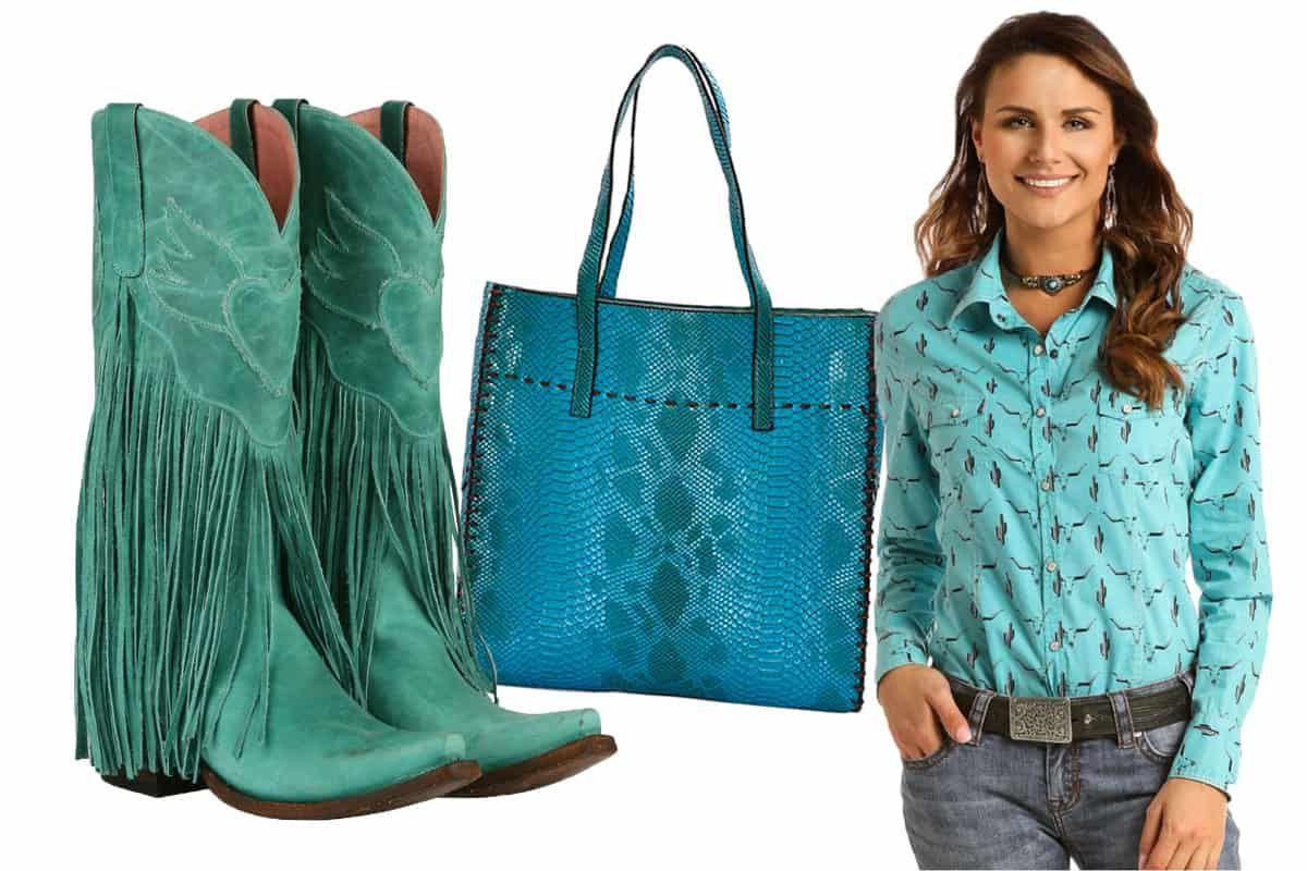 turquoise apparel cowgirl magazine