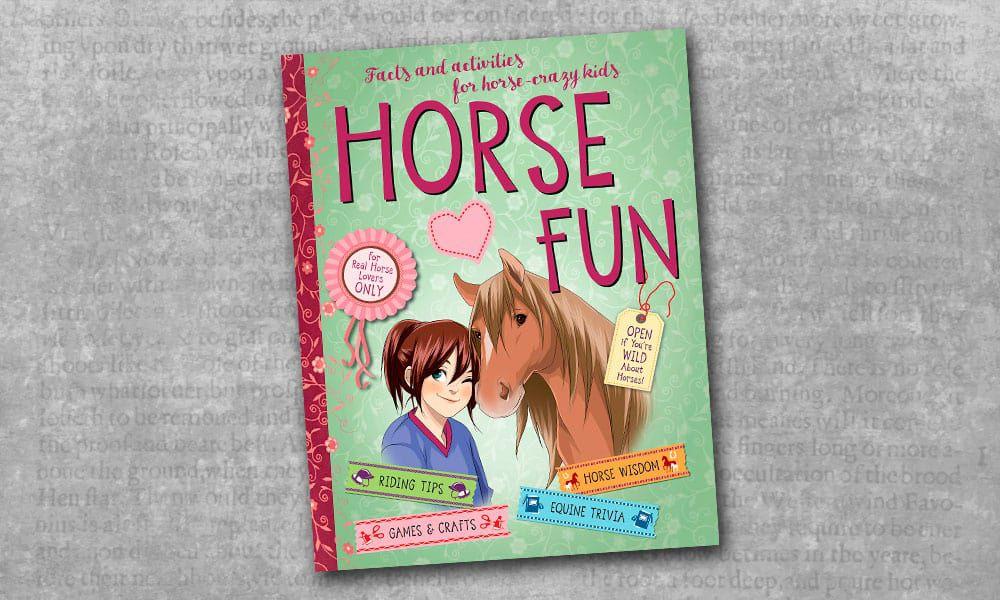 horse fun book cover cowgirl magazine