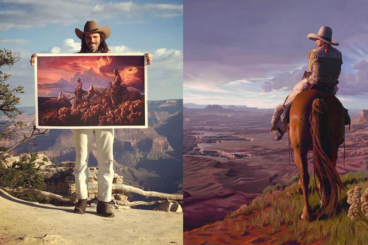 Mark Maggiori cowgirl magazine western art Wild West