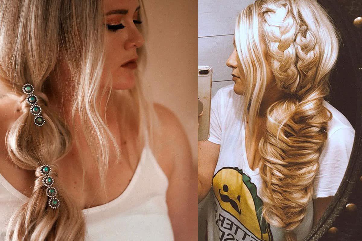 Rachel Joi braids braid hair cowgirl magazine braiding