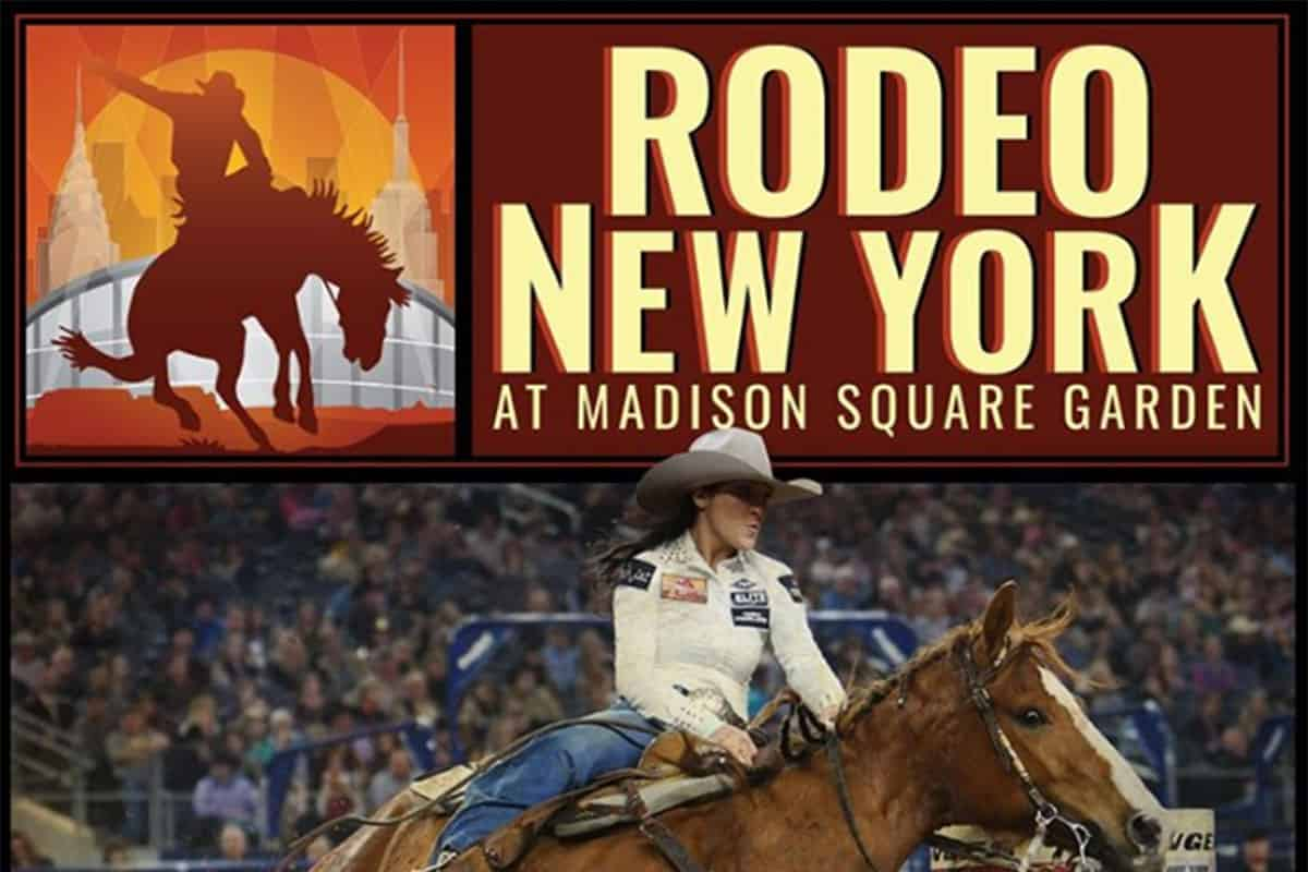 rodeo new york madison square garden the cowboy channel cowgirl magazine